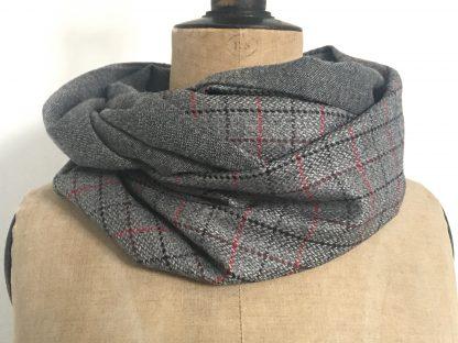 Snood gris laine