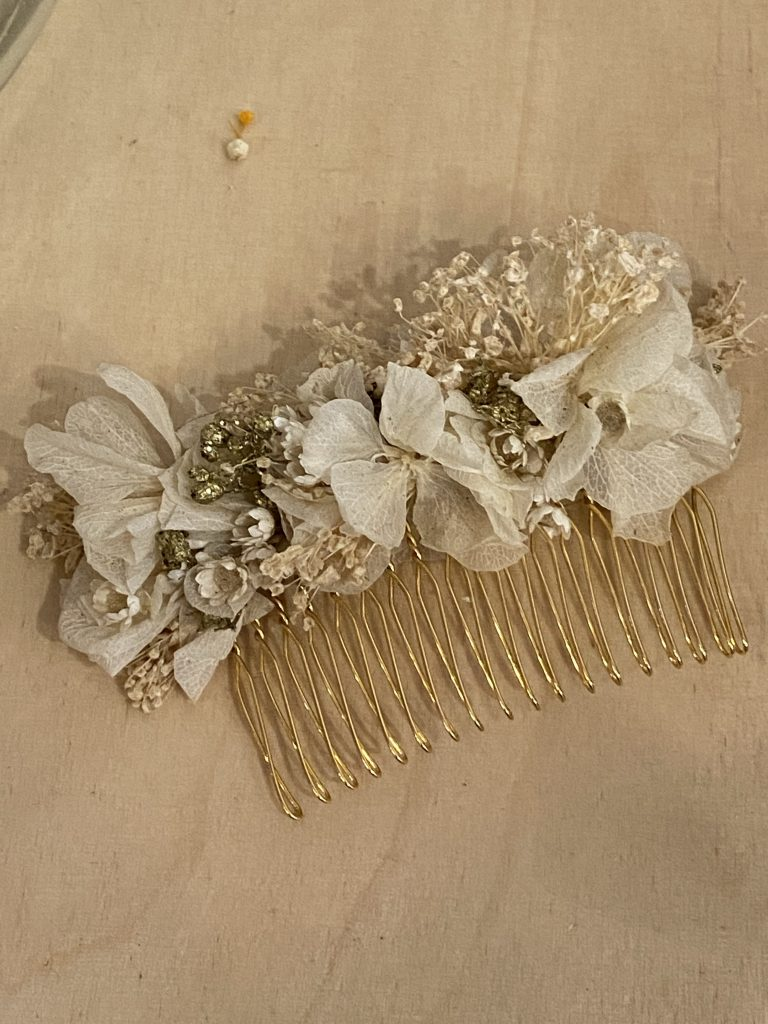 Boutique Herbes Hautes, peigne fleurs