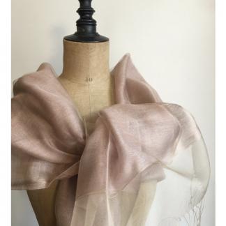 Etole mariage vieux rose avec perles